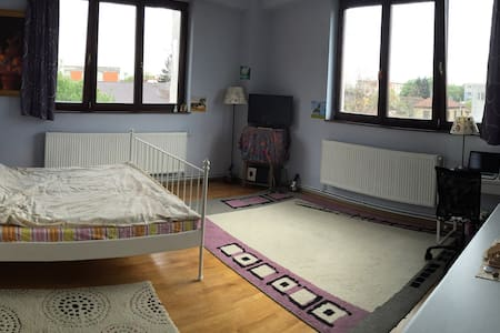 Quiet, calm, bright & spacious/Wifi - București - Apartment