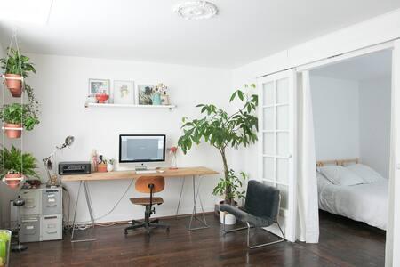 Esprit petite maison dans Paris! - Apartment