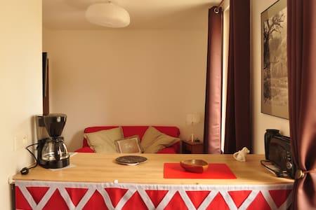 Studio pour curistes et amoureux de la nature - Lamalou-les-Bains - Apartament
