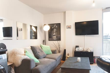 A modern flat in Peckham 2 mins walk from station. - Londres
