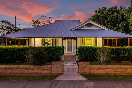 """Ithaca"" Historic Weatherboard home - House"