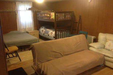 Huge Deck & Room, Open 24 Hours, Amtrak & Albany - Rensselaer - Lakás