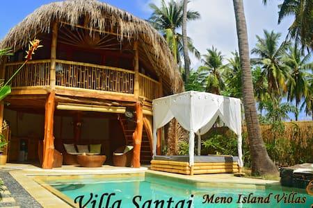 Villa Santai,@ Meno Island Villas, Gili Meno - Pemenang - Vila