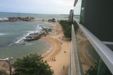 Apartamento Frente para a Praia das Castanheiras - Wohnung