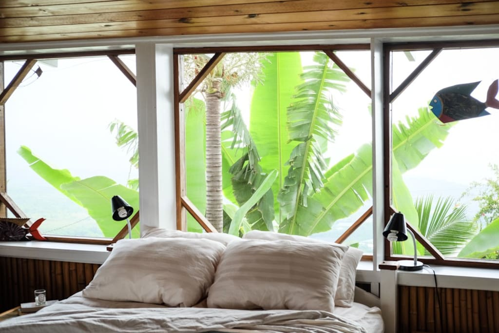 Feel the island breeze while you sleep in our beautiful cottage