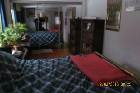 Private cozy room for one person or a couple - Barrie - Talo