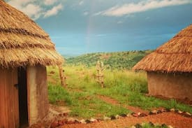 Picture of Real Traditional Ugandan Mud Hut