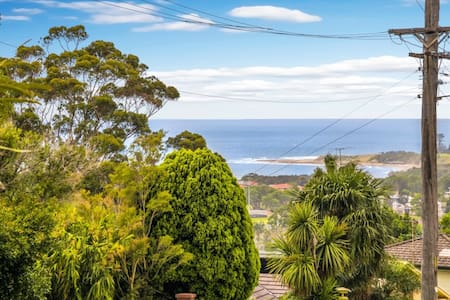 Just Listed! Cozy Retro House-pool and sea views - Thirroul