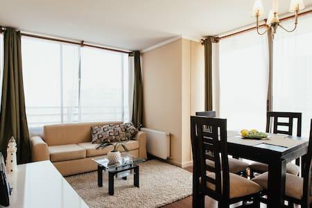 2 dormitorios en pleno centro Stgo - Santiago