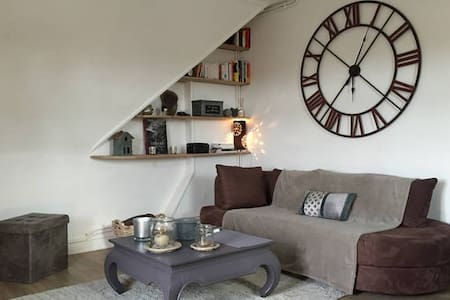 Appt 2 beds, 75m2, 25mn from Paris - Chantilly - Huoneisto