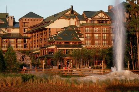Wilderness Lodge Villas. Disney - アパート