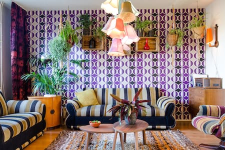 Retro style apartment near Amsterdam - Huizen