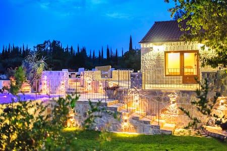 Villa Giulia, private pool, near Dubrovnik. - Čilipi - Huvila