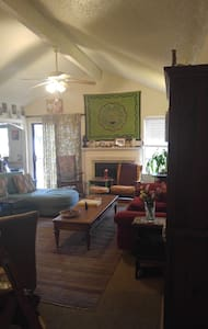 Comfy couch in 3 BR-NE Austin - Austin - House