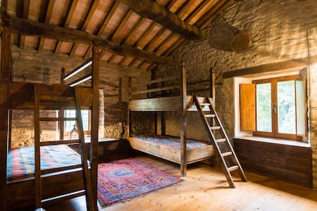 Medieval experience the Wayfarer's Quadruple Room - Marradi - Bed & Breakfast