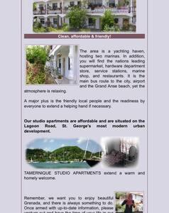 TAMERNIQUE APARTMENTS - Saint George's - Vendégház