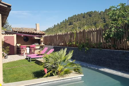 BEAUTIFUL HOUSE IN PROVENCE WITH SWIMMING-POOL - Casa