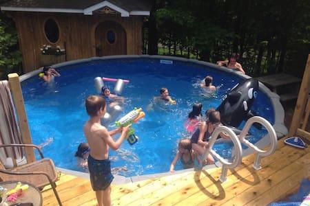 Maison champêtre avec piscine - Casa