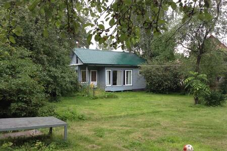 Separate cosy house 35min to Moscow - Huis