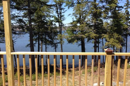 Perfect Mainehidaway with water view Sheepscot Rvr - Pis