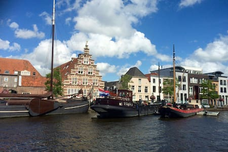 Lovely boathouse,city centre Leiden - Leida - Barca
