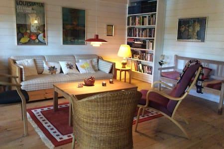 Fredfyldt sommerhus ved Øjesø - Cottage