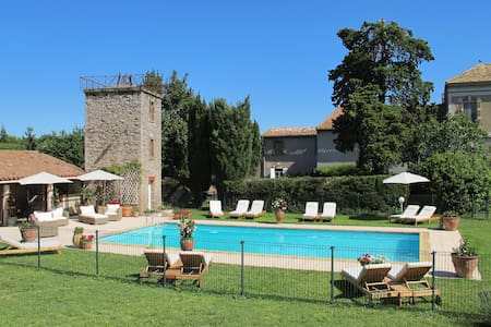 Family-friendly Cottage, heated pool, Carcassonne - Haus