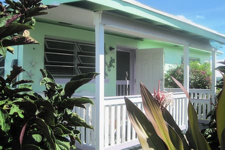 Breezy Island Cottage with all the amenities - Spanish Wells - Ev