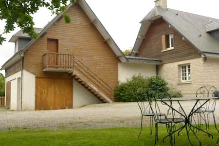 Large studio 52m2 with mezzanine, Normandy country - Apartment