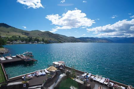 Grandview Lakefront - Sleeps 6 - Chelan - Condominium