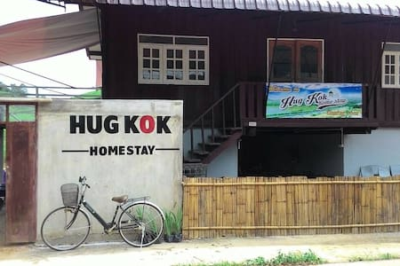 Ban-Karieng-Ruammit...KOK River view..Second Floor - Guesthouse