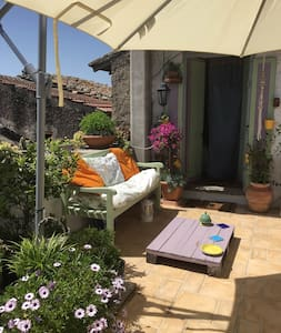 Characteristic house with terrace - Calcata Vecchia - Apartment