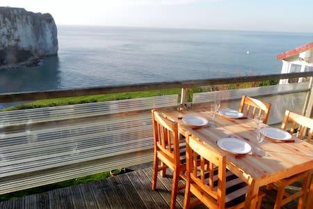Normandie Cottage romantique en bord de mer - Vattetot-sur-Mer - Haus