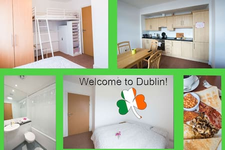 Real apartment regular buses to City Centre 20 min - Ballymun - Apartment