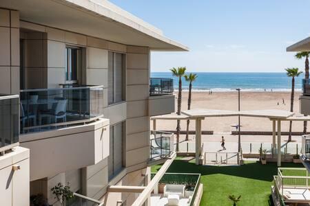 Ideal apartment on Valencia's beach - Alboraia