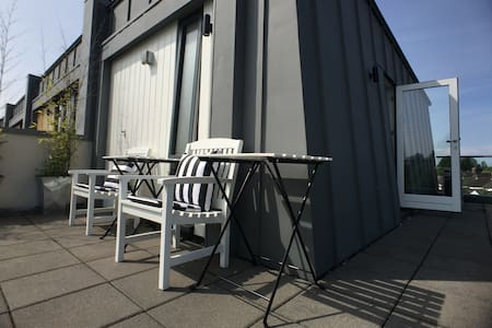 Near town: ensuite & roof terrace. - Cardiff - Maison
