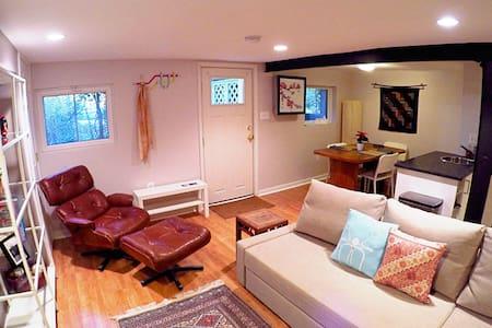 Park side! Capitol Hill Guest suite - Washington - Apartment