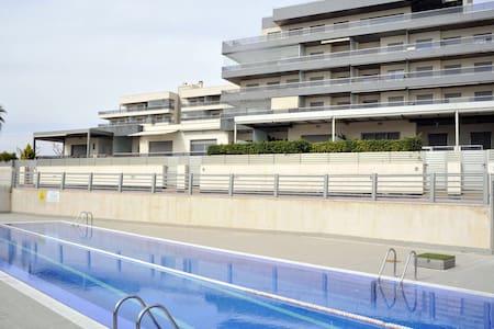 Apartamento en 1ª linea de playa - Appartement