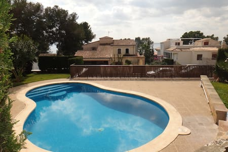 Apartment with garden and pool - Alcúdia