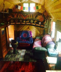 Magical Tiny Cabin - Gallatin - Huis
