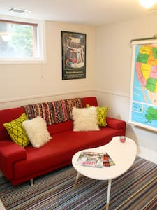 Cozy, private two bedroom suite in Crescent Hill - Louisville - Haus
