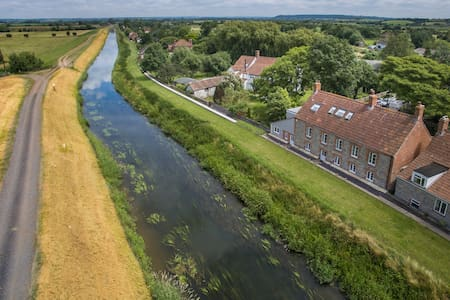 Boutique Luxury Riverside House - Taunton Deane District - Maison