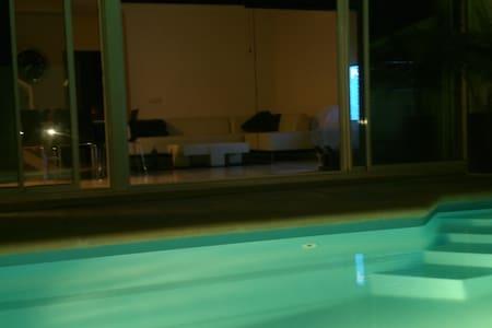 villa relax piscina privada wifi - Tahiche - Villa
