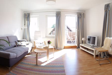 Sunny and quiet maisonette flat in old town centre - Güstrow - Appartement