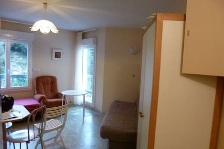 Studio  22m² dans ville thermale - Appartement