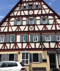 Fachwerkhaus in der Altstadt , Wohnung Silvaner - Daire