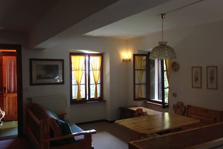 Nice cottage with private yard - Chiesa in Valmalenco - Lejlighed