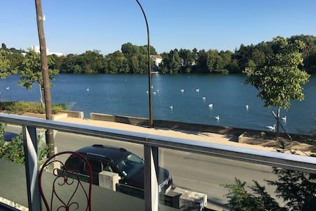 Vue incroyable sur la seine - Villeneuve le roi