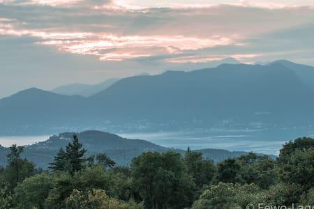 Ferienwohnung (A) mit Seeblick am Lago Maggiore. - Montegrino Valtravaglia