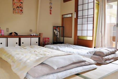 大阪关西国际机场(KIX)传统日式(西式)民宿 机场专车接送 JR车站免费接送 - Osaka,sennanshi - House